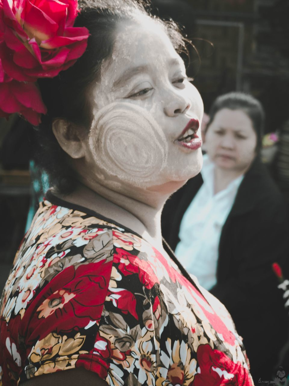 real people, love, lifestyles, two people, women, day, men, kimono, outdoors, groom, flower, wedding dress, well-dressed, bride, close-up