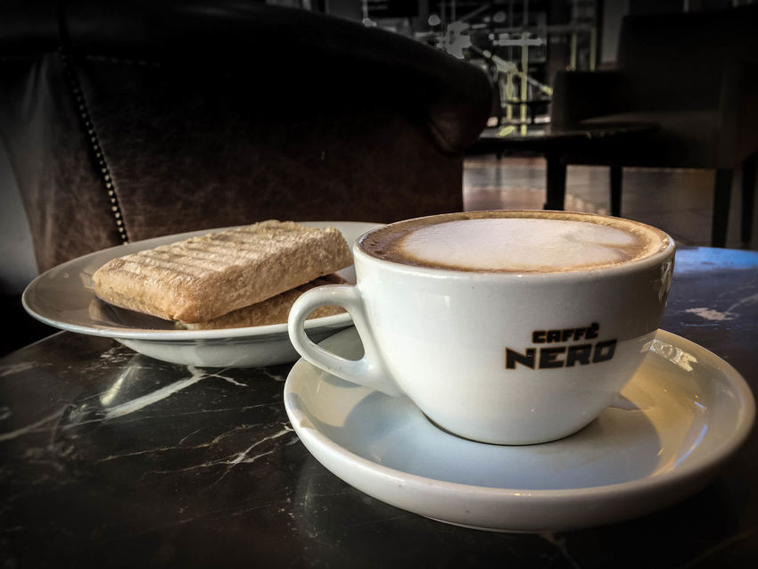 Coffee Shop. Coffee Break Biscuits Relaxing Coffee Shop Cafe Caffe Nero Cafe Nero First Eyeem Photo Drink Beverage Food Snacks! IPhoneography