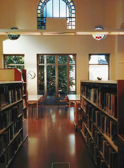 Library Nice Atmosphere Studying