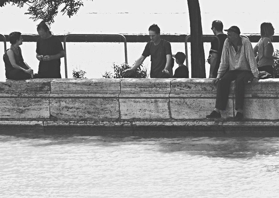 Duna Danube Sziliphoto Sony Flooding Budapest Hungary