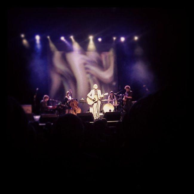 Paul Kelly on stage