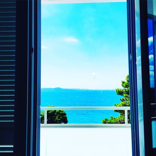 Room with view Blue Sky Croatia Petrcane Hotel Room