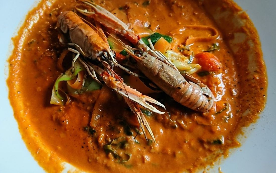 Fish Stew Louth Greyhound Inn Lincolnshire Xperiaphotography Xz Lunchtime Langustine