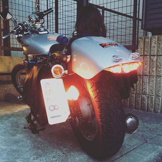 マグナ50 Magna50 サイドナンバー ソロシート カスタム中