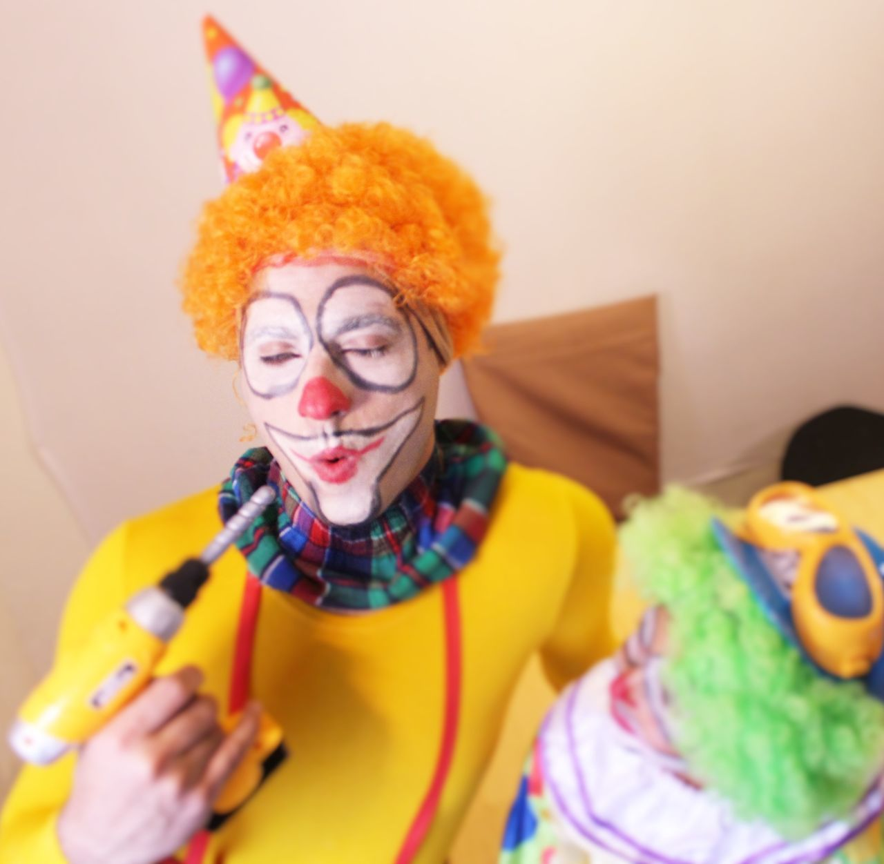 Beautiful stock photos of clown, 35-39 Years, Arrangement, Clown, Collection