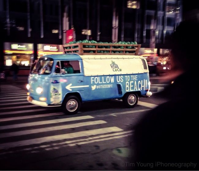 Follow me to the BEACH! | Streetphotography VW Bus Timyoungiphoneography Commute Home