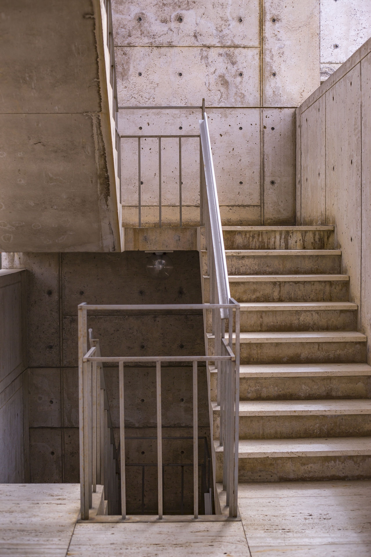 Abandoned Architecture Basement Built Structure Cali California Day Domestic Room Education Home Interior Indoors  No People Salk Institute  Southern California Staircase Steps Steps And Staircases