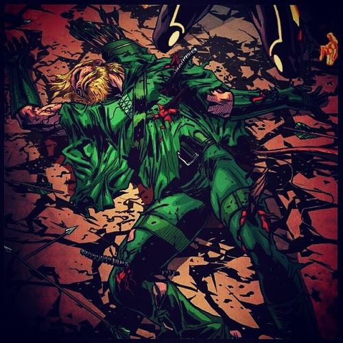 FuturesEnd Greenarrow DC New52 DeadGreenArrow OliverQueen