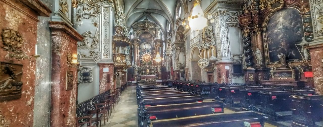And a panorama from the Franziskaner-church Architecture Vienna Austria Österreich Hope you like it! ;-)