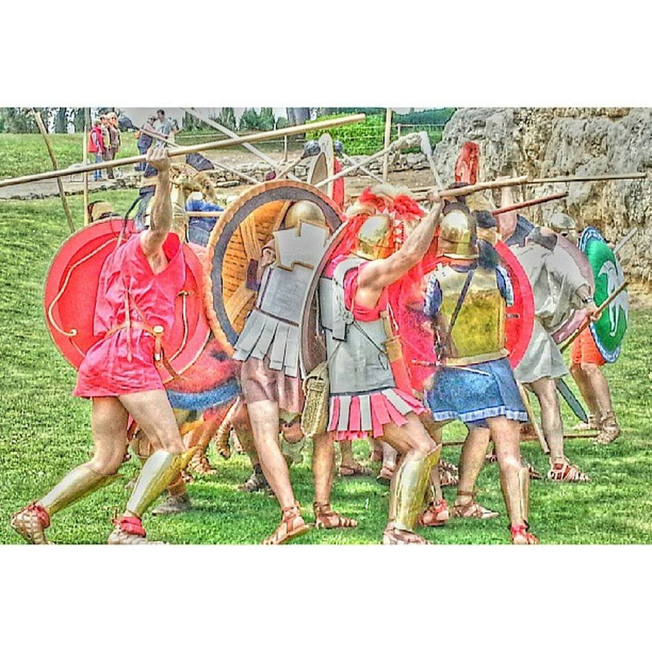 Batussa d'hoplites a Emp úries