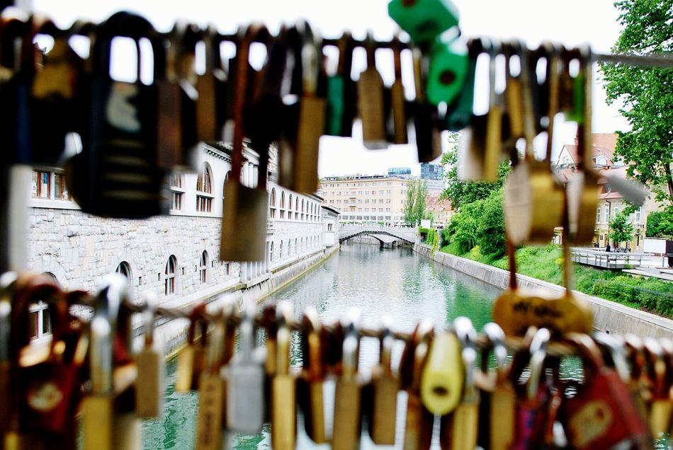 Lubljiana Bridge Love ♥ Enjoying Life Nature Photography
