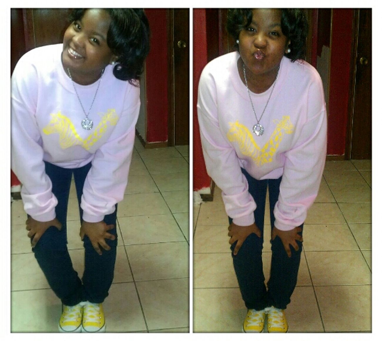 , ' Yesterday ((: After The Beauty Shop .