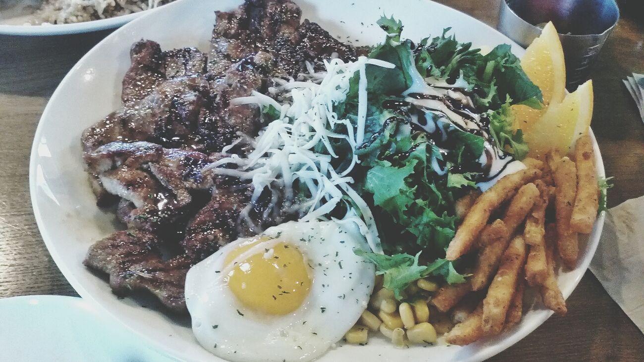 Yammy! Bbq Salad @it Plate YumYum