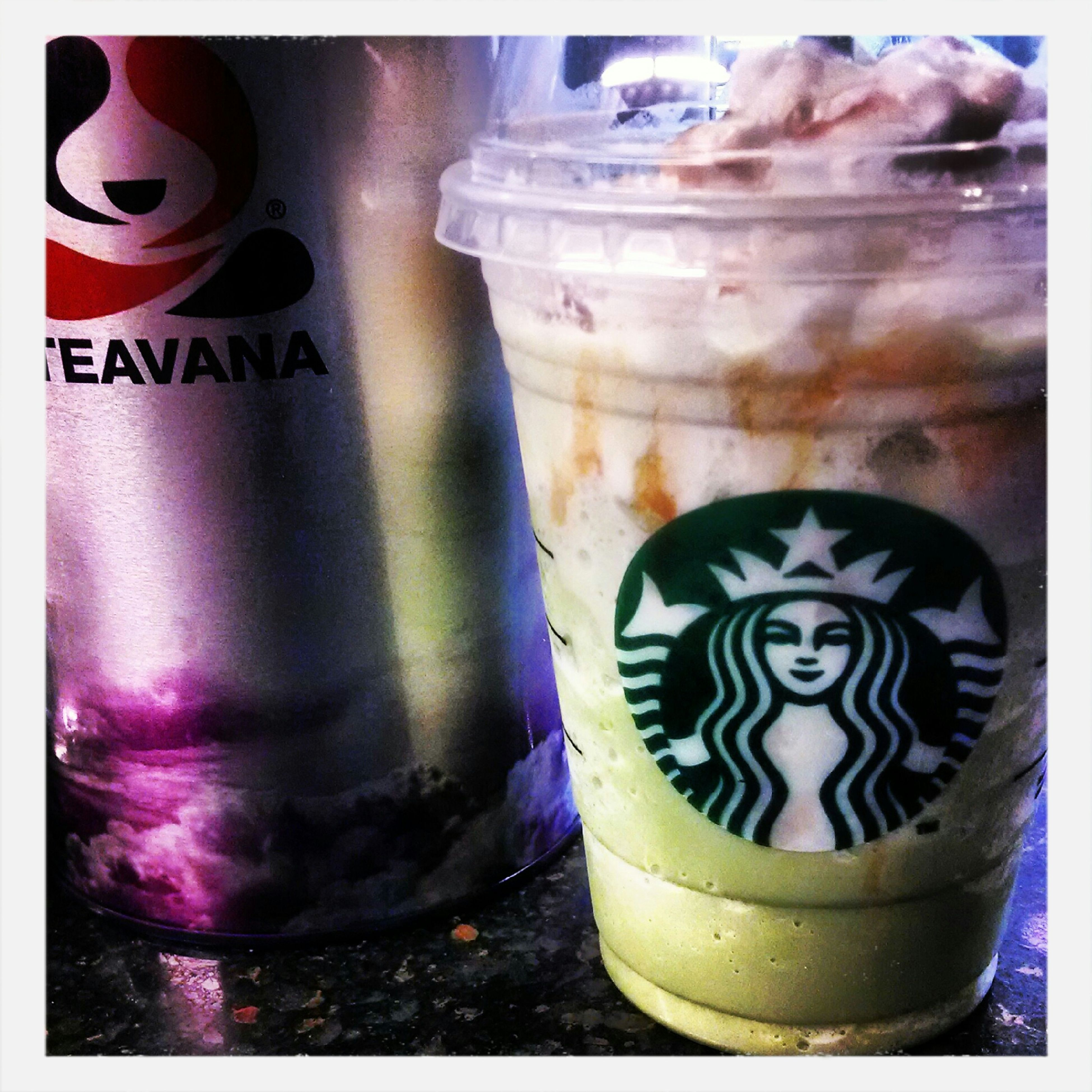 starbucks secret menu. pistachio pudding frapp. Starbucks Teavana Partners Matcha Frappucino