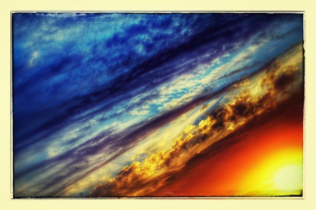 Painted skies. Clouds And Sky Sunset California Natural Beauty