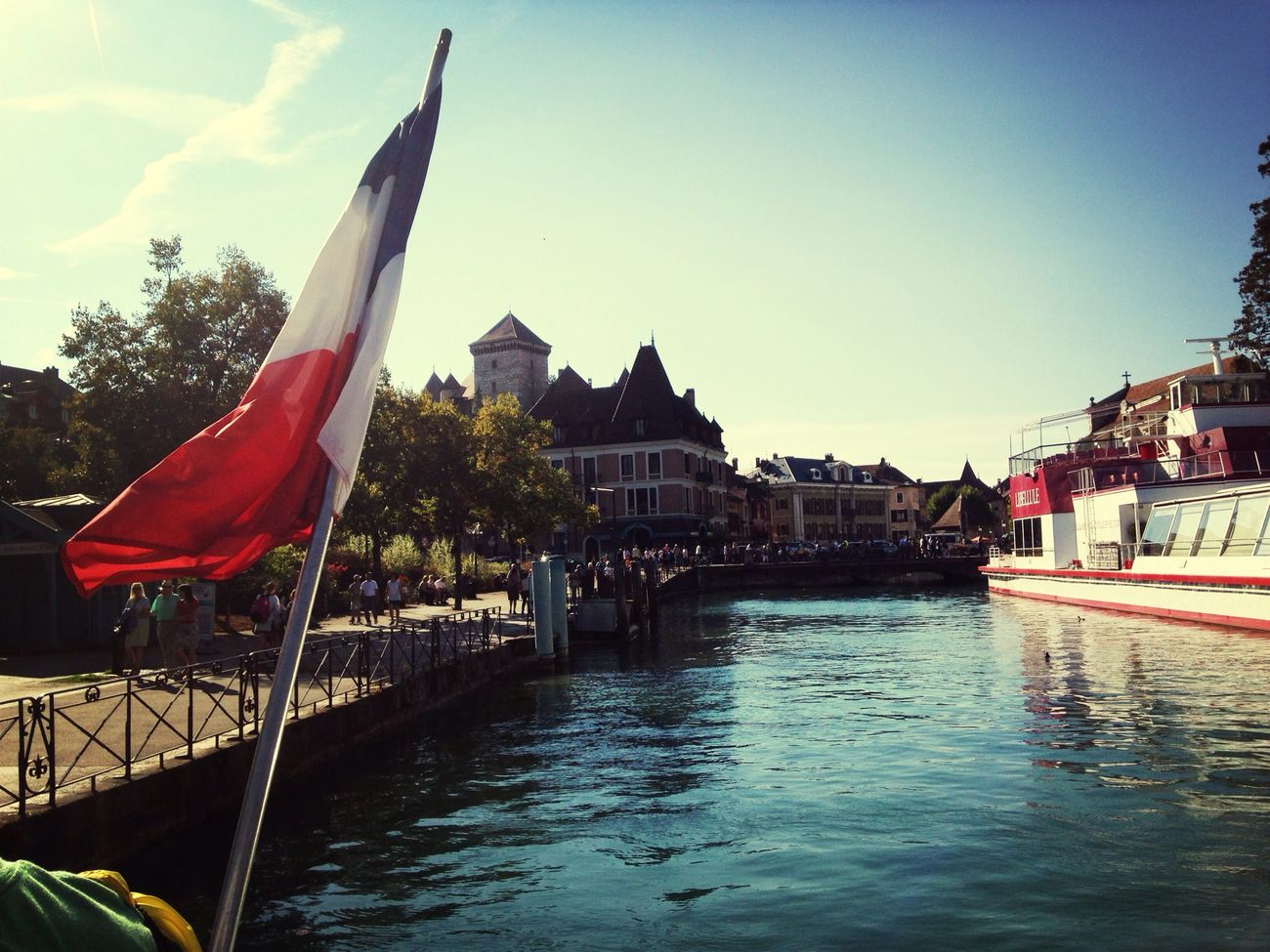 Annecy, France Lake Frenchflag France First Eyeem Photo