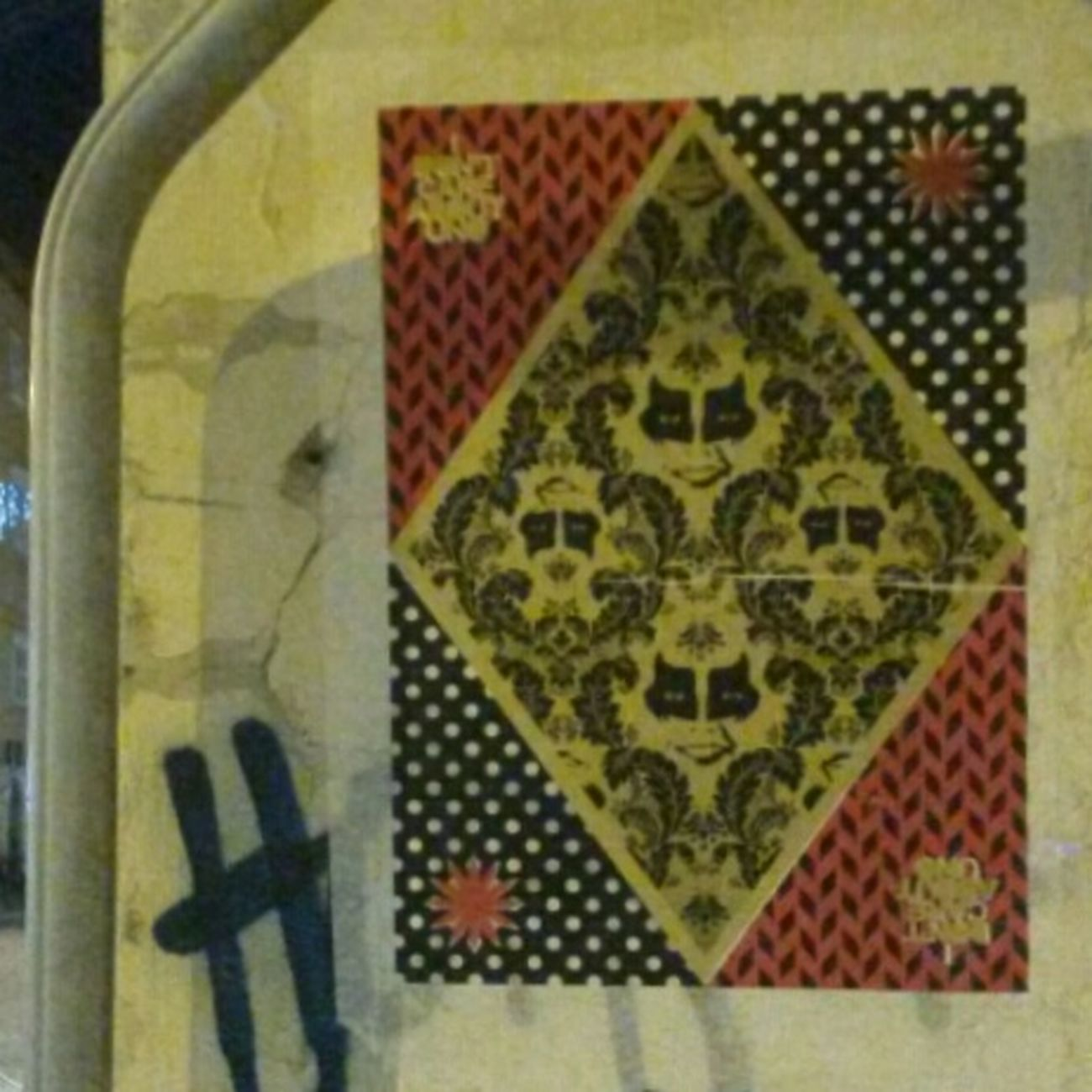 Kiss Playcard Stencil Art Streetphotography Streetart