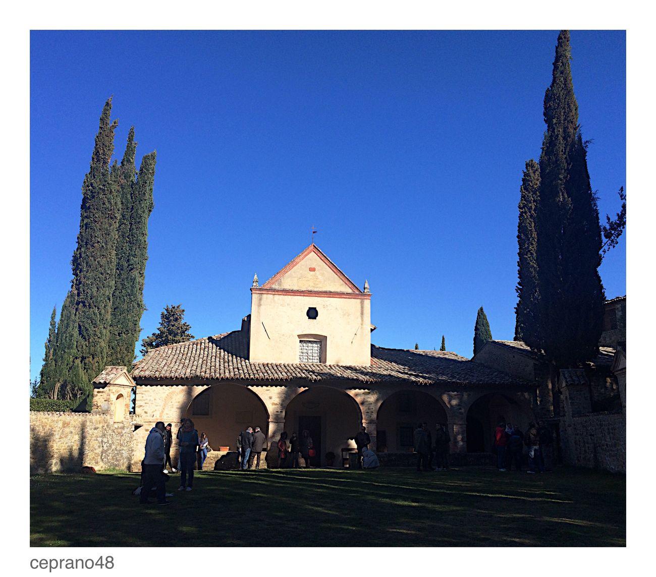 La chiesa della Scarzuola a Montegabbione Umbria Architecture Church Building Exterior