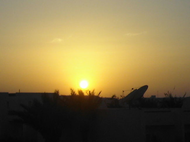Beauty In Nature Djerba  Nature Orange Color Outdoors Scenics Silhouette Sky Sun Sunlight Sunset Tunesia Tunesien