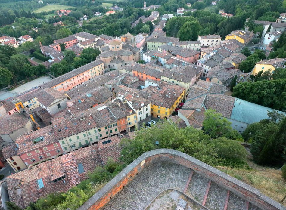 Aerial View Architecture Building Exterior Built Structure Cityscape Day High Angle View Landscape Nature No People Old Buildings Outdoors Romagna Rooftop Tourism Borghiditalia Borghipiúbelliditalia