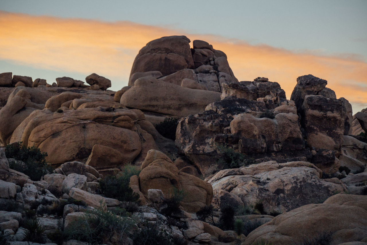Beauty In Nature Boulder - Rock Day Nature No People Outdoors Rock - Object Sky Sunset Tranquil Scene