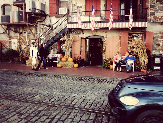 Savannah Georgia Bay Street Bay Street Snapshots Beautiful