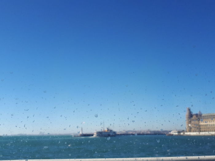 Water Sea Sky Drop Nautical Vessel Clear Sky Blue