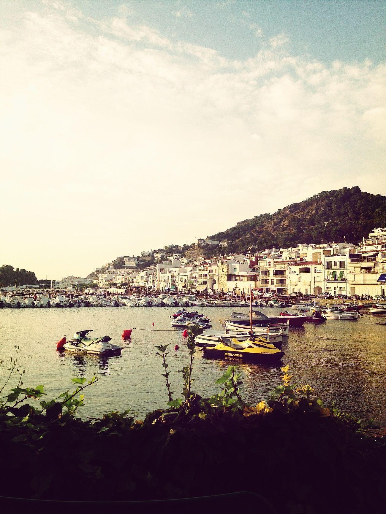 El Port De La Selva Costa Brava Mediterràniament Summertime