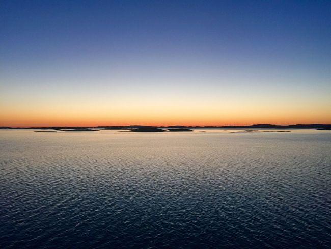 Sunset Ocean Ocean View