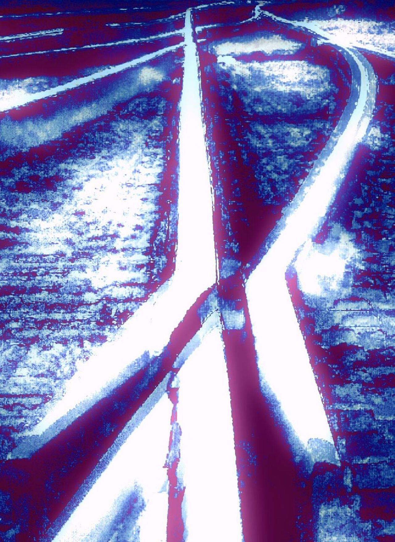 Railroad _collection Railroadphotography Railroad Track Railroad Photography Steel Traintracks Doubleexposure Double Exposure Tracks Thetrainspotting Reversed Image Reversed Perspective Flipped Image Flippedover Flippedit