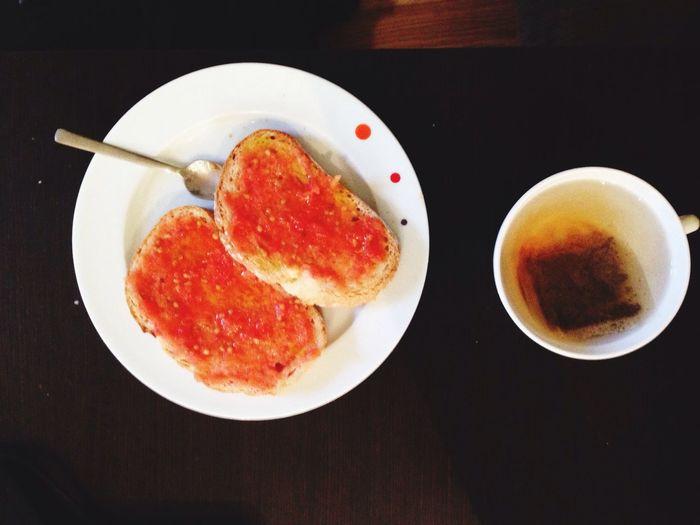 Morning Rituals Breakfast Tea Croissant