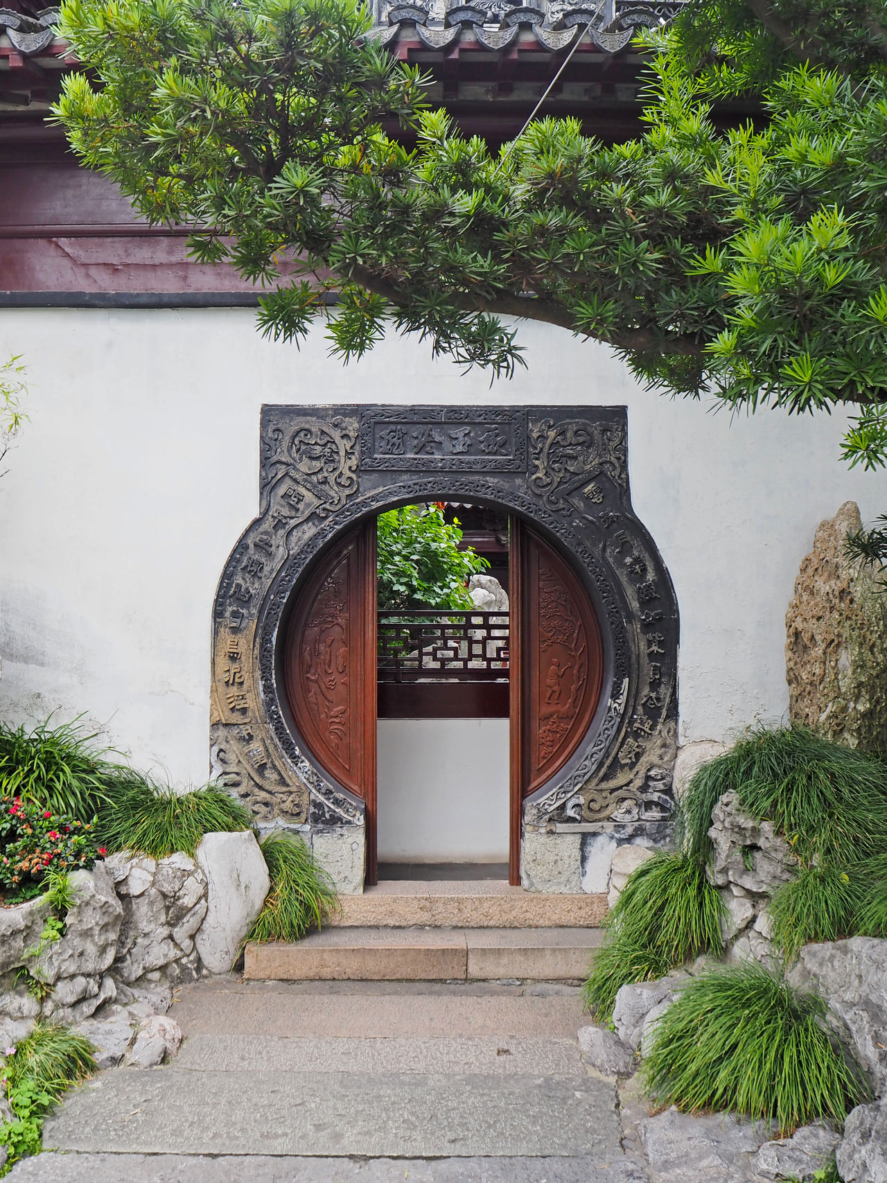 China Door Doors Entrance Round The Architect - 2015 EyeEm Awards Pinetrees Traditional Garden Architecture