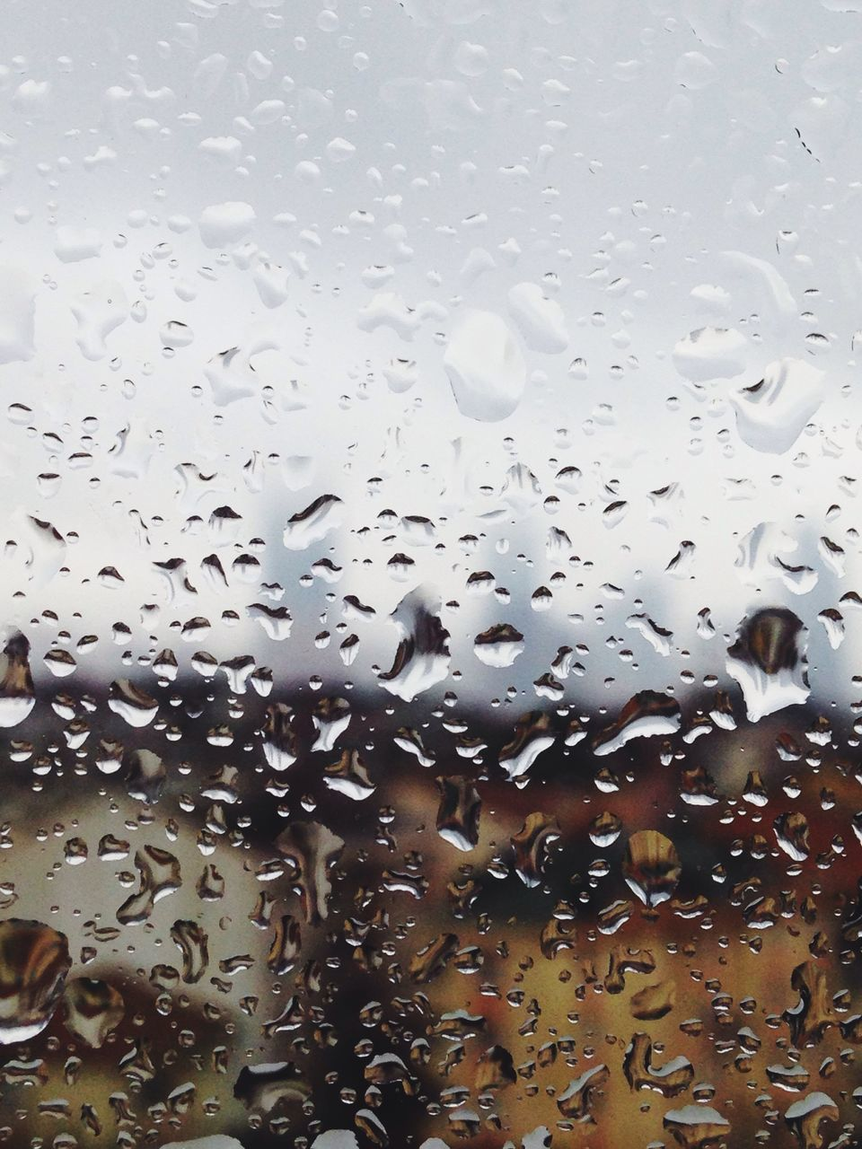 drop, window, wet, rain, water, car, no people, raindrop, full frame, car interior, land vehicle, backgrounds, indoors, close-up, day, sky