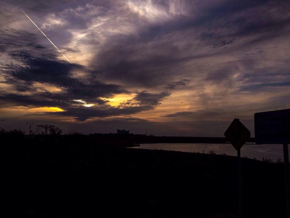 Amazing View Perfect View Justenjoy Jezburg Clouds And Sky Traveling Jezkazgan Sunset