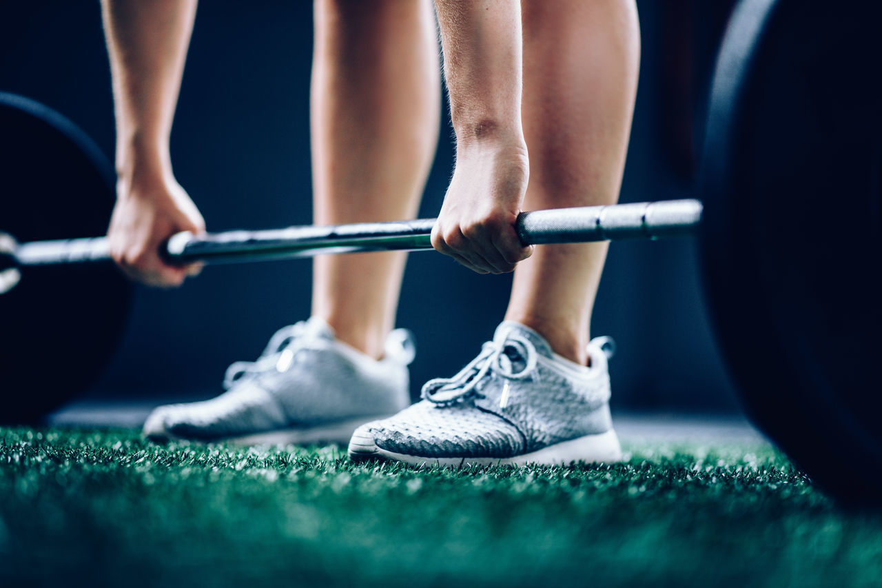 Barbell Fitness Out Of The Box Shoe Sneakers Sport Training Weightlifting ♥
