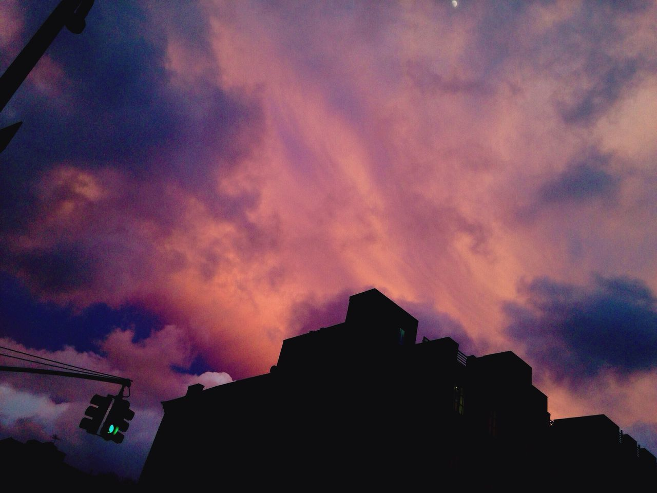 Cotton candy skies Clouds And Sky Cottoncandy Clouds Colors Pink Blue Color Your Life Gradient Bedstuy Brooklyn New York Nightshot Neons HOODLIFE EyeEm Bestsellers Bold Neons, Bright Pastels Urbanity Cityscape Purple Twilight NYC Photography The Changing City Glow