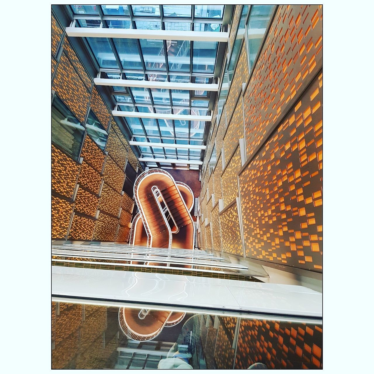 Window Architecture Indoors  Day No People Built Structure Building Exterior City Spiral Staircase