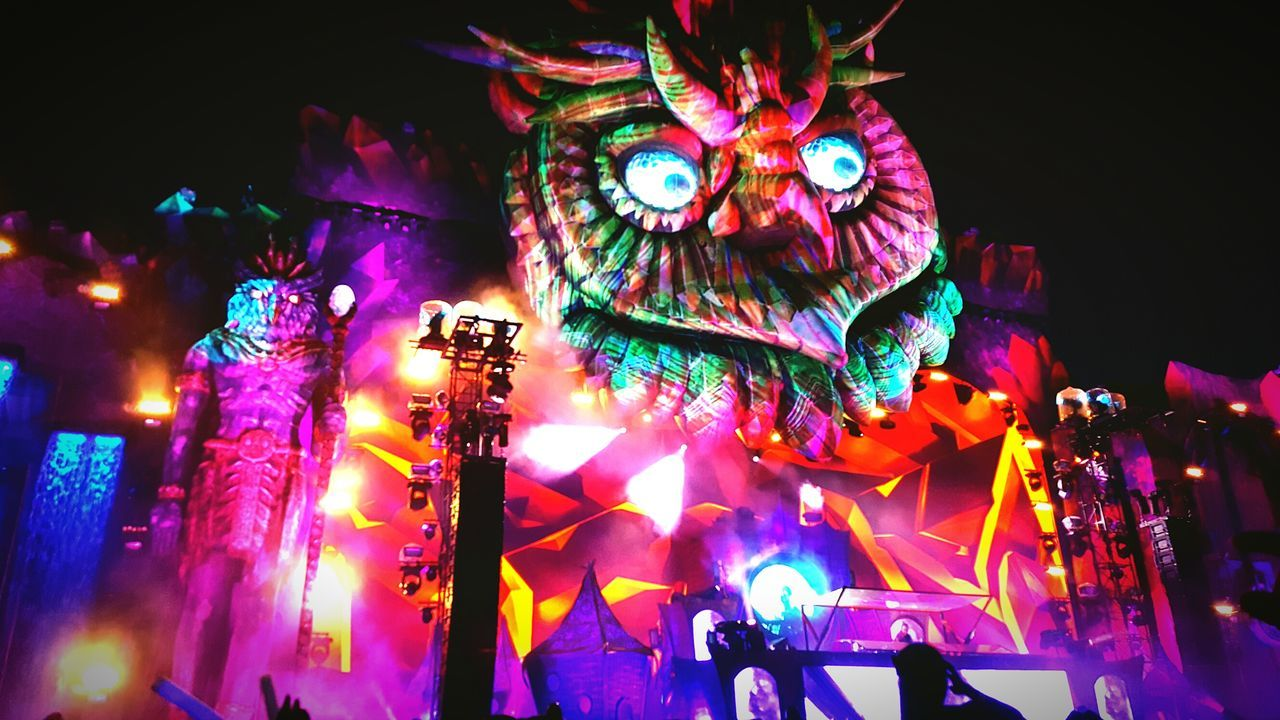 Enjoying Life NYC EDC2016 Fire In The Sky Happiness Music Festival Moments