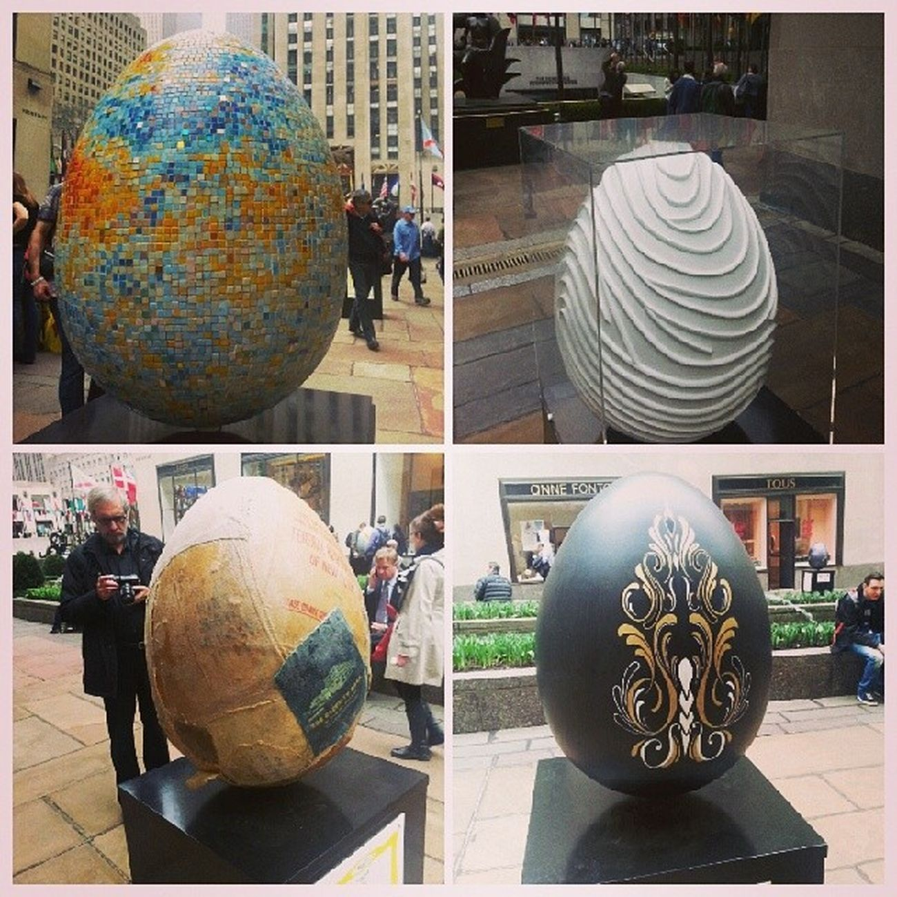 Microwave background mosaic, two joined fingerprints, currency bags (called Nest Egg, hehe), slick tattoo style. Egg94 Egg14 Egg202 Egg185 thebigegghuntny