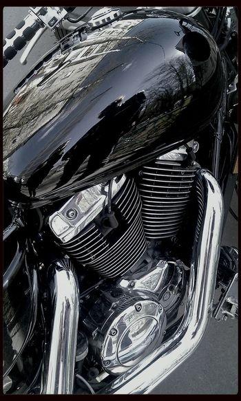 Motorcycles V-twin My Bike Reflection