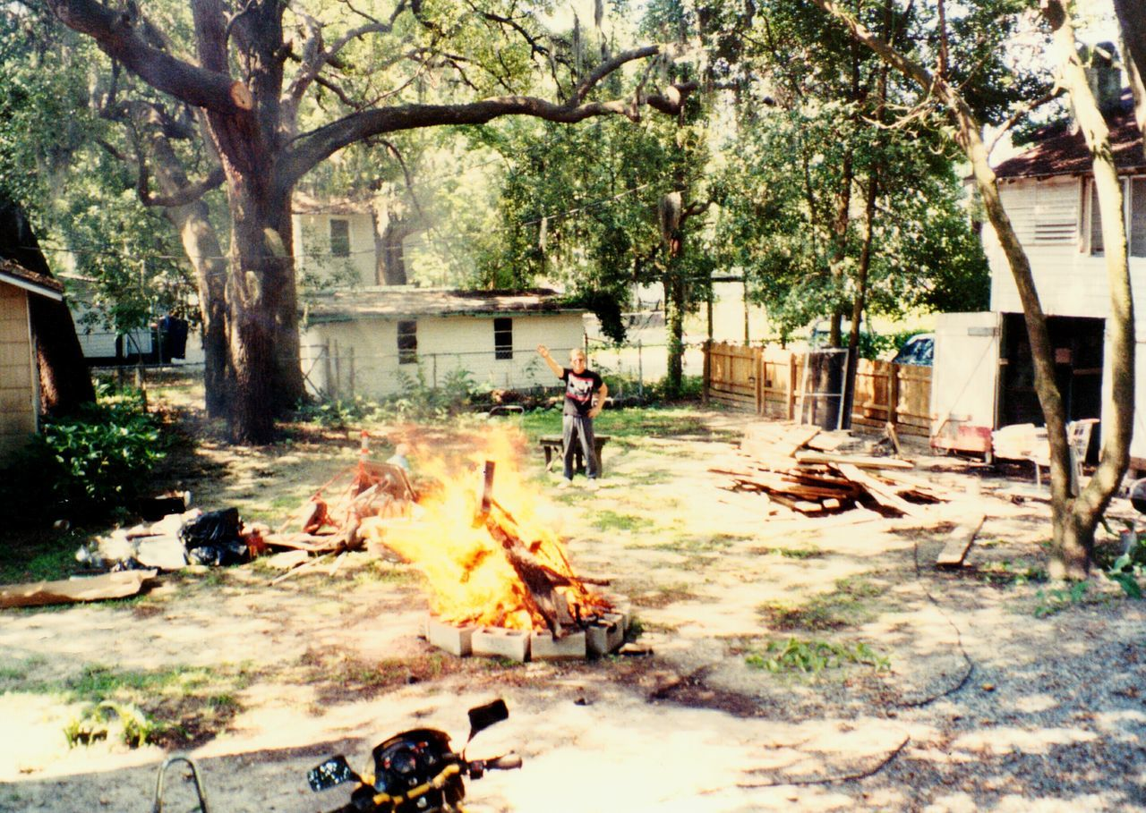 Backyard Bombfire LiveOaks