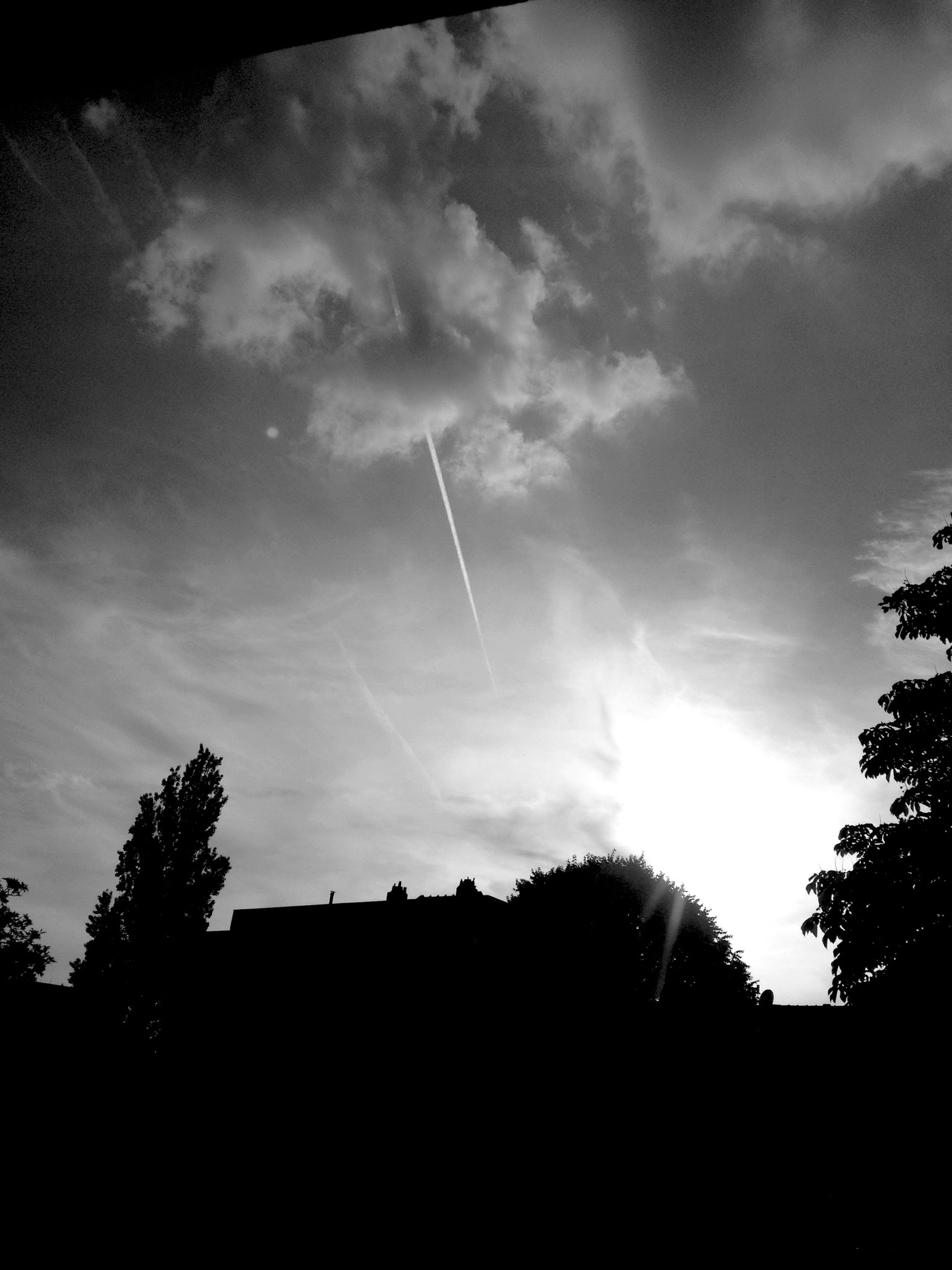 Sunset Sunset Brussels Arround Me Blackandwhite View Terrace Time