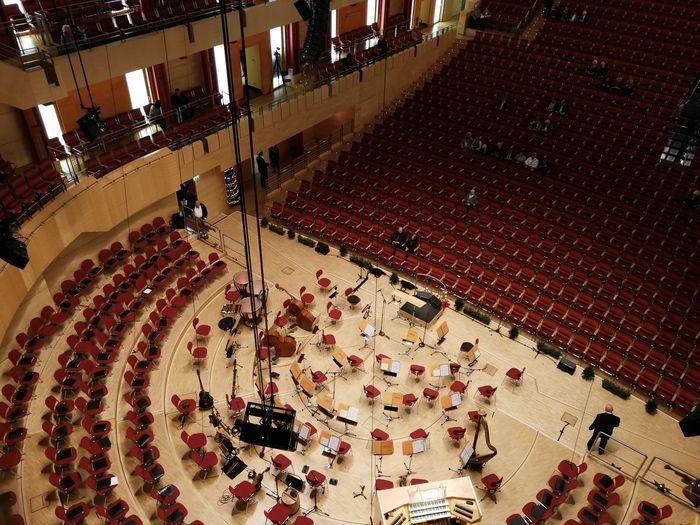Essen NRW Oper Orchestra Concert  Ruhrgebiet Architecture Choir  Indoors  Operahouse Orchestra Philharmonie