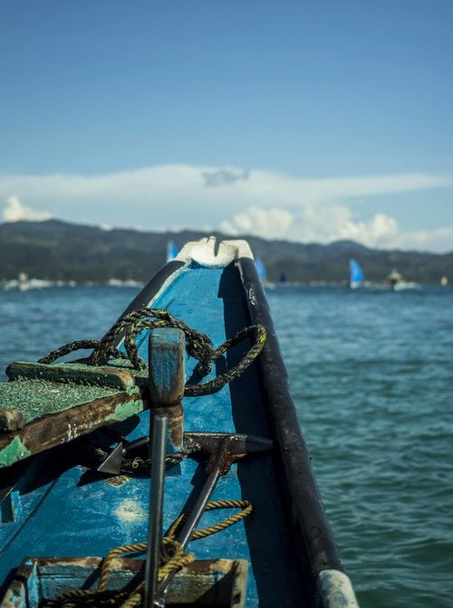 In blue shades. Blue Summertime Islandhopping Photography