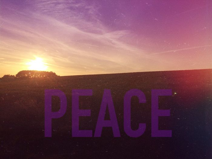 What Does Peace Look Like To You?