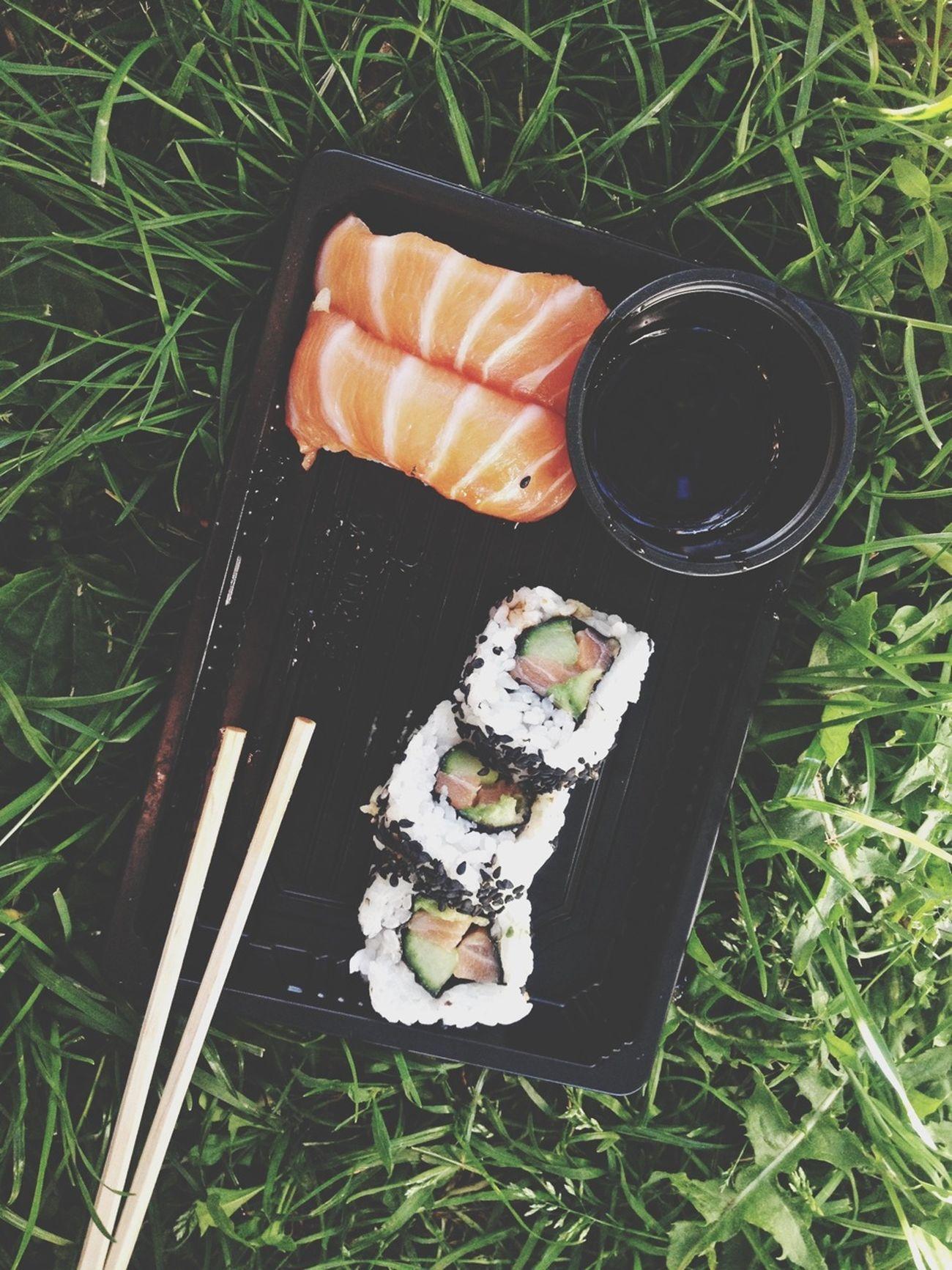 Sushi äter Upp Mitt Liv