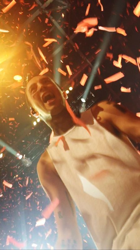Seeing that face, of all his happiness and knowing he's made it, in real life was just the best thing ever, best night of my life Confetti Tylerjoseph Concert EyeEmNewHere Rock Music Music Musician Happiness Fun Joshdun Spoopy in Sioux Falls Southdakota EyeEmNewHere