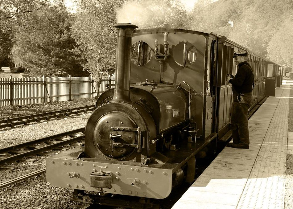 Old-fashioned Railroad Track Stationary The Past Llanberis Walesonline Wales UK Wales❤ Travel Photography Railway Track Train Tracks Train Photography Railway Photography Heritage Railway Steam Locomotive Steam Engine Steam Train Steam Trains Steam Railway Steam Traction Engine