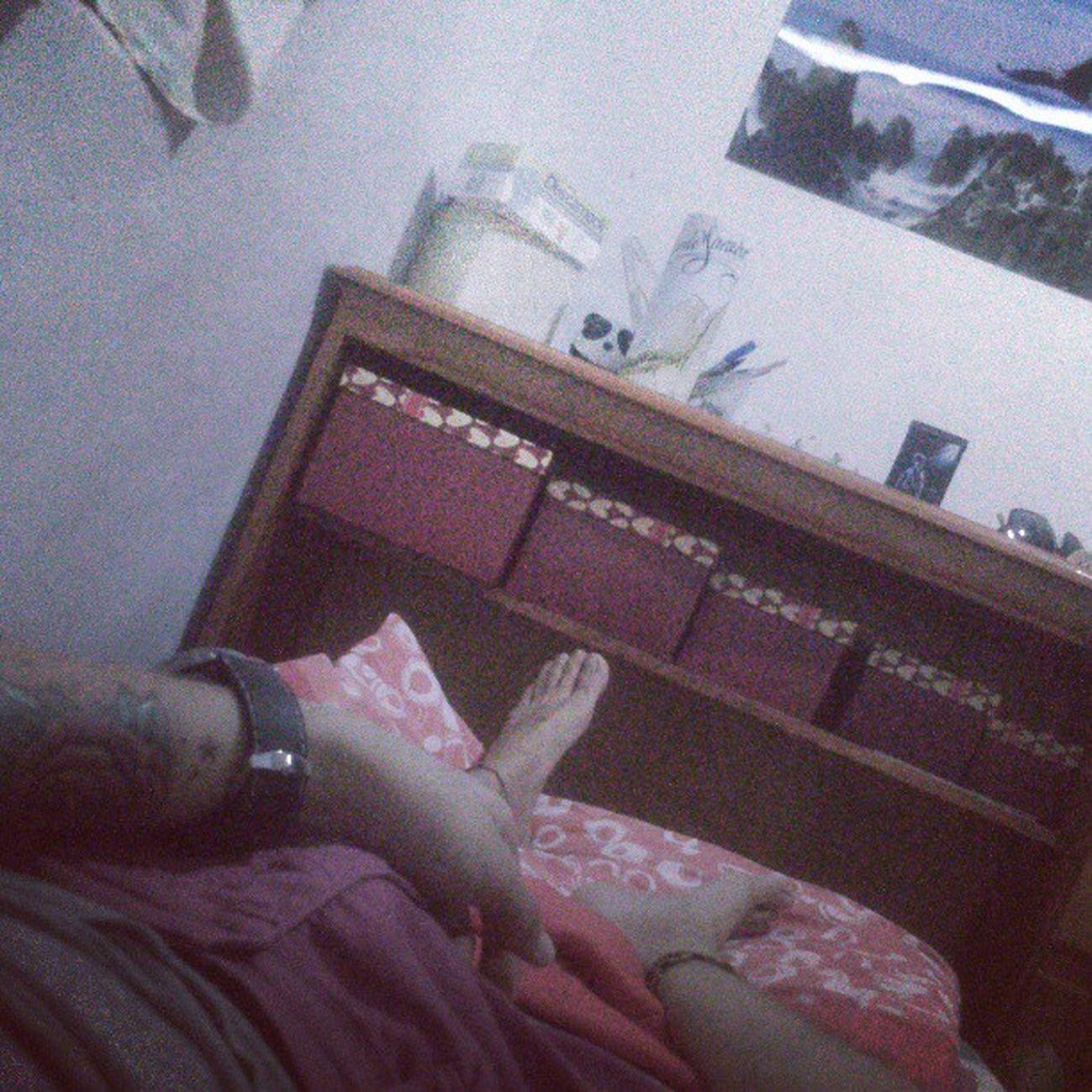 Na minha caminha gostosa esperando sono vir! Night Dormir Sleep Bonnuit