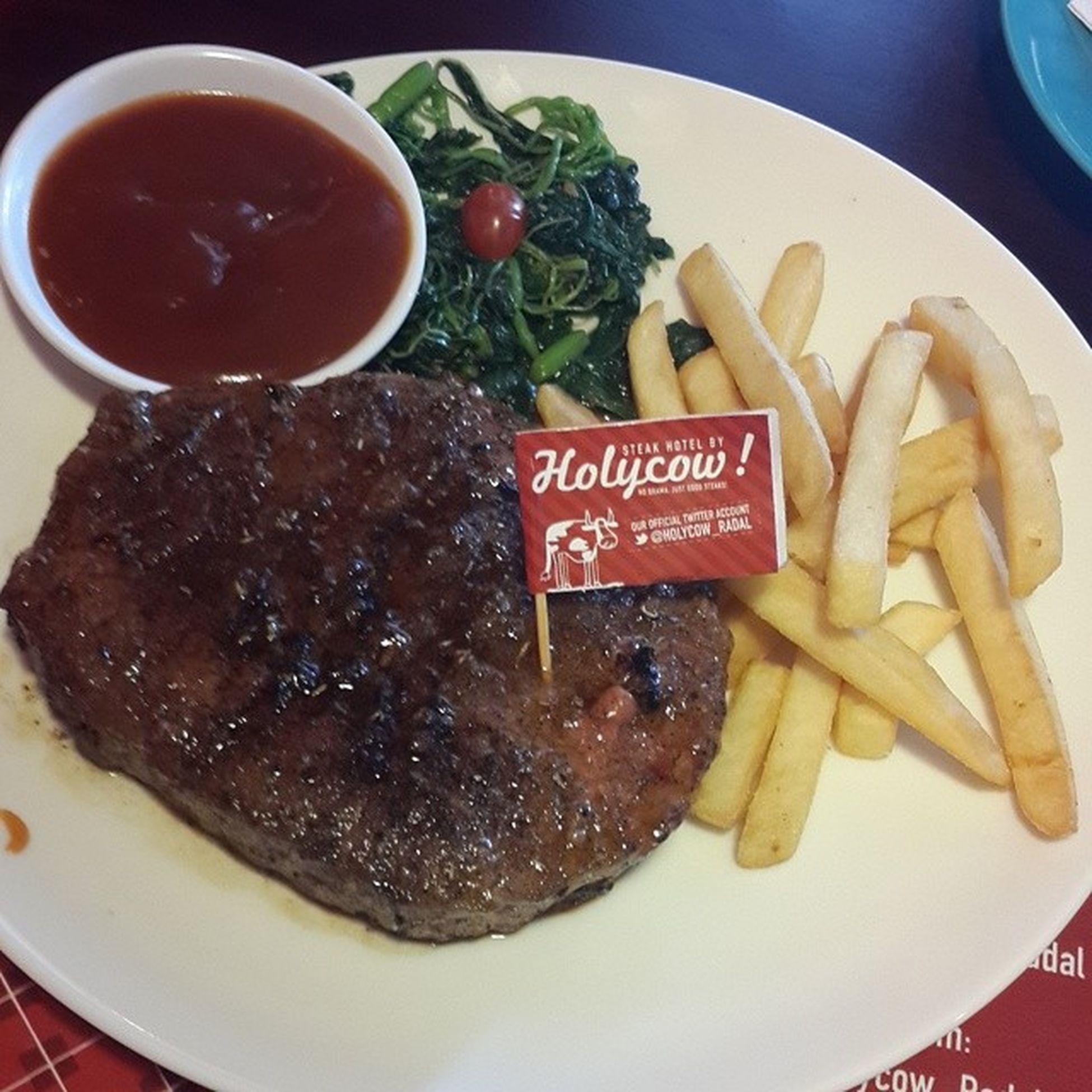 @holycow_radal / part 2 steak mischievously delicious !! / Tkpsurabaya